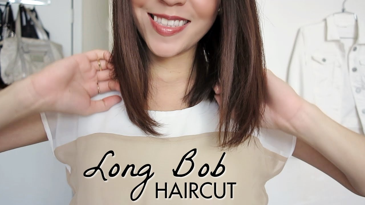 Consider choosing a long bob for straight hair this summer season